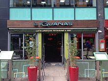 Las Iguanas Drinks Menu Leicester