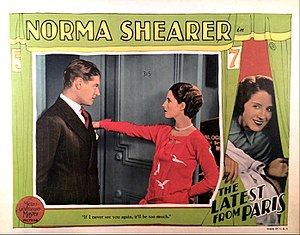 The Latest from Paris - Lobby card