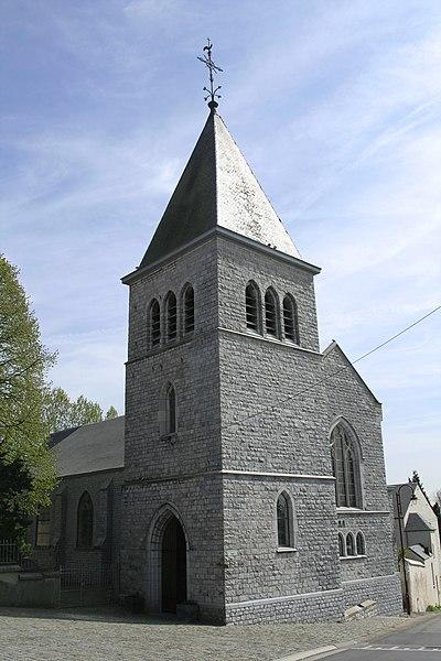 Latinne (Belgium), the church.