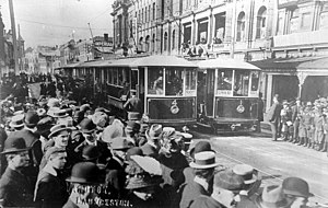 Launceston trams in 1911