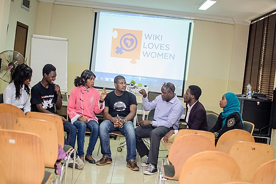 Launching of Wiki Loves Womenat Goethe Institute, Lagos ,Nigeria 23.jpg
