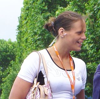 Laure Manaudou French swimmer