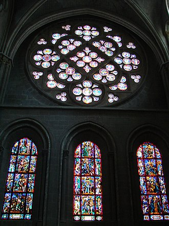 Lausanne Cathedral - Image: Lausanne Cathedral 05