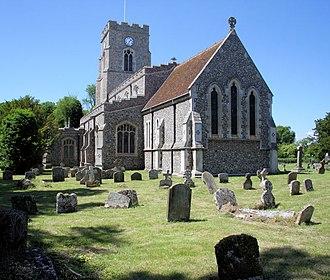 All Saints' Church, Lawshall - Image: Lawshall Church of All Saints