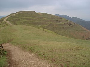 Hillforts in Britain - British Camp, a contour hillfort at Herefordshire Beacon.