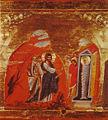 Lazarus Miracle Icon Sinai 13th century.jpg