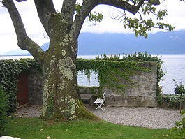 Corseaux - Lake Geneva as seen from the Le Corbusier's house