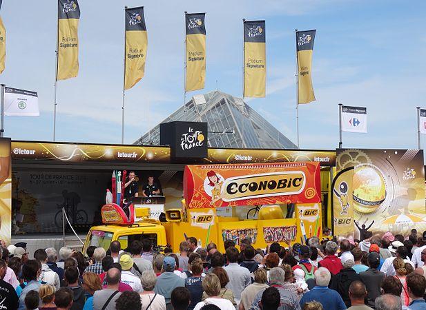 Le Touquet-Paris-Plage - Tour de France, étape 4, 8 juillet 2014, départ (A27).JPG