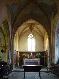 Le choeur de l'église Saint-Blaise à Bagnols..JPG