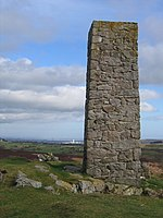 File:Lead Mines Chimney above Rhydtalog - geograph.org.uk - 351320.jpg