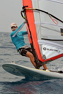 Lee Korzits Israeli windsurfer