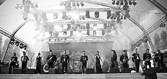 Leningrad Cowboys - Image: Leningrad Cowboys in Berlin 2nd of September 2011