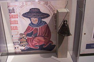 Leprosy stigma - Medieval leper bell