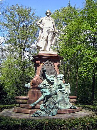 Otto Lessing (sculptor) - Lessing Monument in the Großer Tiergarten, Berlin