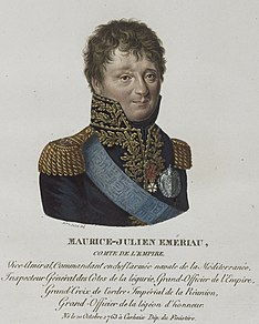 Maxime Julien Émeriau de Beauverger French admiral