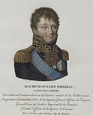 Maxime Julien Émeriau de Beauverger - Image: Lesuire Maurice Julien Emériau, comte de l'Empire, né le 20 octobre 1763 à Carhaix