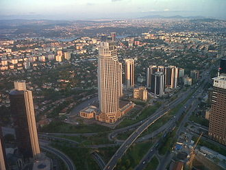 Isbank Tower 1 - Image: Levent 2011 Aug