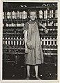 Lewis Hine - Addie Card, 12 years. Spinner in North Pownal Cotton Mill MET DP262027.jpg