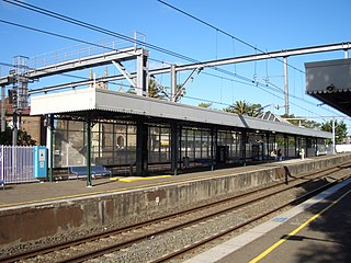Lewisham railway station, Sydney railway station in Sydney, New South Wales, Australia