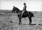 Lieutenant Colonel McCarroll, Auckland Mounted Rifles Regiment