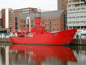 Lightship at Canning Dock, Liverpool - 2007-09-12.JPG