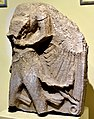 Limestone relief of a male figure from Tell al-Rimah, Iraq. Kassite. Iraq Museum.jpg