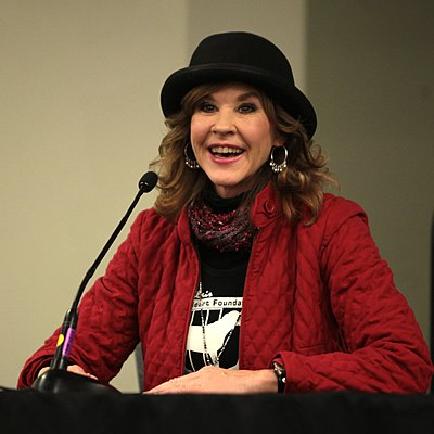 Linda Blair, American actress, producer, and animal rights activist