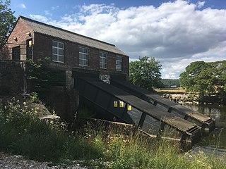 Linton Falls Hydro Hydro-electric plant on River Wharfe, England