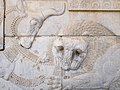 Lion and Bull, Persepolis, Iran (14288425790).jpg