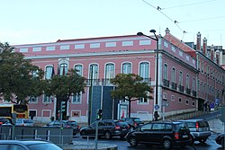 Lisbon, Largo do Rato, the palace Praia e Monforte.JPG