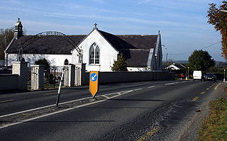 Lisronagh Village in Munster, Ireland