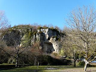 grotte du Moulin de Laguenay
