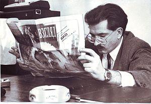 Novy Vzglyad - Vlad Listyev reading Novy Vzglyad