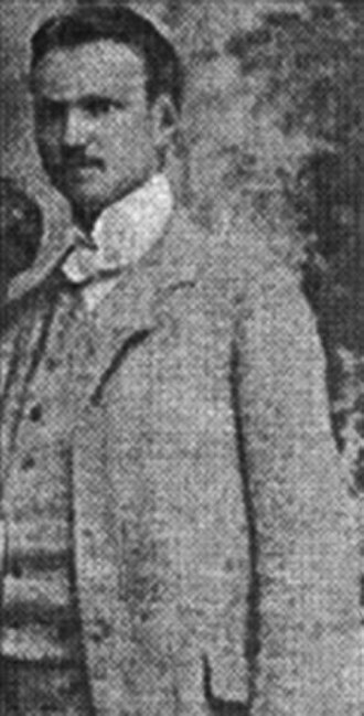 Ljuba Jezdić - Ljuba Jezdić in civilian clothing
