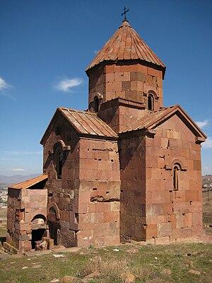 Lmbatavank - Saint Stephen church, the southwestern façade