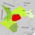 Localització d'Ibi respecte l'Alcoià.png