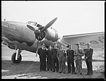 Lockheed Hudson Bomber A16-31 and employees (2821115256).jpg