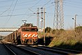 Locomotive 2600 with sand train Linha do Norte close to Entroncamento Portugal.jpg