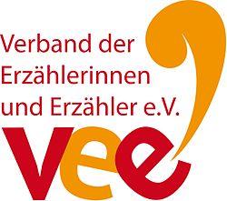 Vereinslogo des Verbandes der Erzählerinnen und Erzähler e.V. (VEE)