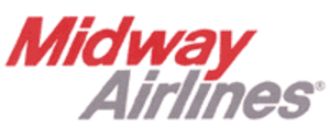Midway Airlines (1976–1991) - Image: Logomidwayairlines 1985