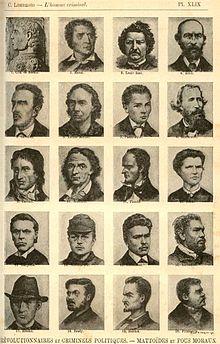Особый раздел в знаменитом каталоге Чезаре Ломброзо отведен «революционерам и политическим преступникам».