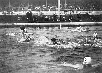 History of water polo - Water polo final at the 1908 Summer Olympics