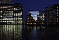 London MMB »039 Canary Wharf and City Canal.jpg