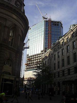 Trollope & Colls - Image: London stock exchange reclad 5