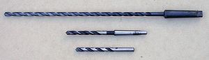 Drill bit sizes - 11/32 inch drills: long-series Morse, plain Morse, jobber