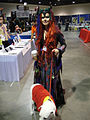 Long Beach Comic & Horror Con 2011 - witchy demon woman and Krypto (6301175047).jpg