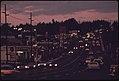 Looking Along Highway 99w, a Suburb About 12 Miles South of Downtown Portland...09-1973 (4271689643).jpg