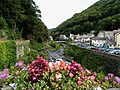 Looking Up the Lyn River at Lynmouth - geograph.org.uk - 964.jpg