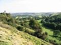 Looking down the escarpment towards Beachborough - geograph.org.uk - 970292.jpg