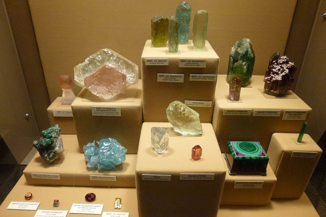 Museum Of Natural History Minerals And Gems